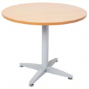 Rapid span 4 star round table 900mm beech