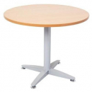 Rapid span 4 star round table 900mm cherry