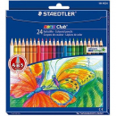 Staedtler 185 c24 noris coloured pencils assorted box 24