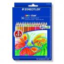 Staedtler 185 c36 noris coloured pencils assorted box 36