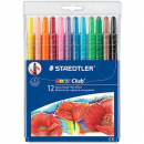 Staedtler noris club wax twister crayons assorted pack 12