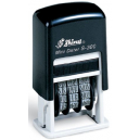 Shiny 9s300 self inking mini date stamp black 3mm