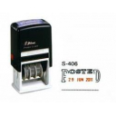 Shiny self inking date stamp with message 'POSTED'