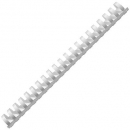 Gold sovereign plastic binding combs A4 21 loop 12mm box 100 white