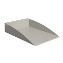 Rapid screen document tray precious silver