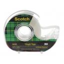 Scotch 810 magic tape in dispenser 12mm x 33m