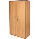 Rapid span cupboard with hinged doors 1800 x 900 x 450mm beech