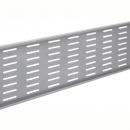 Rapid span modesty panel 957 x 300mm for 1200mm desk and corner desks brushed silver