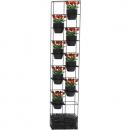 Rapidline rapid bloom vertical garden 1935 x 390 x 210mm black