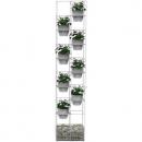 Rapidline rapid bloom vertical garden 1935 x 390 x 210mm white