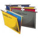Crystalfile suspension files foolscap asst colours box 25