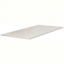 Rapid span table top 1100 x 600mm with cable entries 25mm white satin