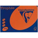 Trophee colours A4 copy paper 80gsm 500 sheet orange