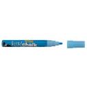 Texta liquid chalk markers wet wipe bullet 4.5mm blue
