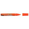 Texta liquid chalk markers wet wipe bullet 4.5mm orange