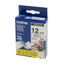 Brother tze-231 laminated labelling tape 12mm black on white