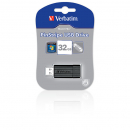 Usb flash drive verbatim retractable 32gb