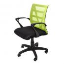 Vienna mesh chair medium back lime