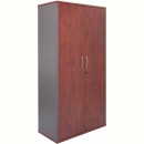 Rapid manager cupboard lockable 1800 x 900 x 450mm appletree/ironstone
