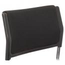 Rapidline wimbledon visitor chair back cushion black