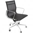 Rapidline mesh meeting room chair black