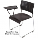 Rapidline wimbledon visitor chair writing tablet arm 400 x 255mm