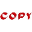 Xstamper 1336 message stamp red 'COPY'