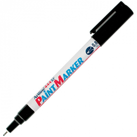 Artline 444 paint marker extra fine 0.8mm black #A444B