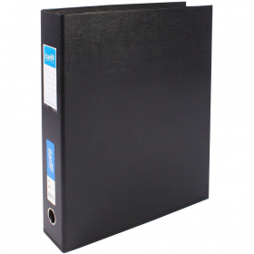 Bantex lever arch binder portrait A3 65mm black #B1467-A10