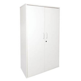 RAPID SPAN CUPBOARD WITH HINGED DOORS HEIGHT 900 X 450 X 1800MM WHITE #RLSP2FD18W
