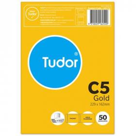 Tudor C5 kraft envelopes pack 50 #140172