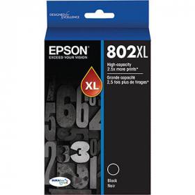 Epson 802 inkjet cartridge high yield black #E802XLB